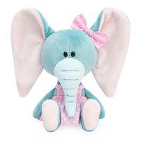 "Мягкая игрушка ""Слониха Симба в розовом сарафане"" (15 см)"
