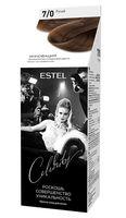 """Краска-уход для волос """"Estel Celebrity"""" (тон: 7.0, русый)"""