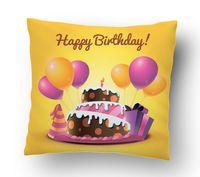 "Подушка маленькая ""Happy Birthday"" (art.15)"
