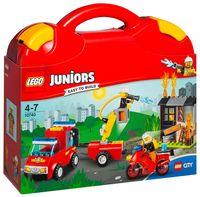 """LEGO Juniors Чемоданчик """"Пожарная команда"""""""