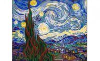 "Картина по номерам ""Ван гог. Звездная ночь"" (400x500 мм)"