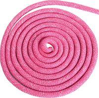Скакалка для художественной гимнастики Pro (3 м; розовая с люрексом)