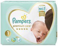 "Подгузники ""Premium Care Newborn"" (2-5 кг; 72 шт.)"